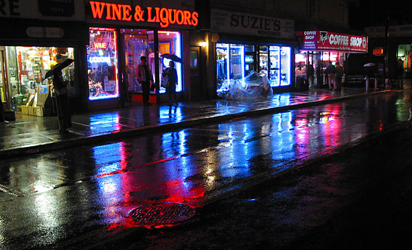 Wine & Liquors, 2003, photo by Fred Hatt