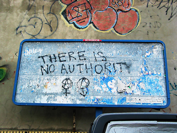 Authority, 2002, photo by Fred Hatt