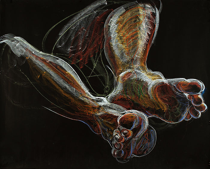 Feet, 2007, by Fred Hatt