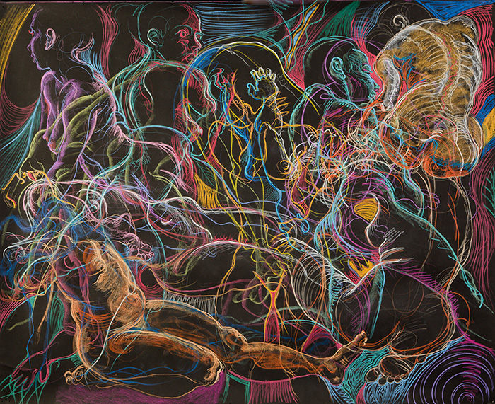 Twists, 2010, by Fred Hatt