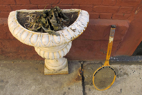 Planter and Racket, 2011, photo by Fred Hatt