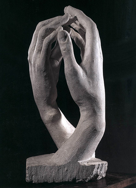 Cathedral, 1908, by Auguste Rodin