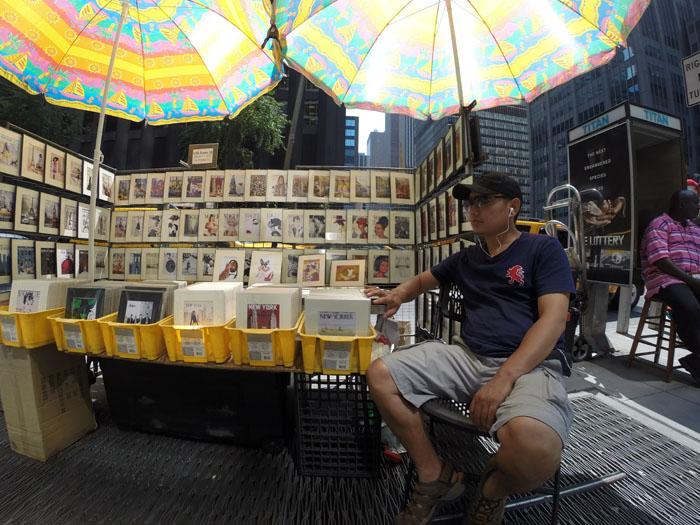 Vendor, 2014, photo by Fred Hatt